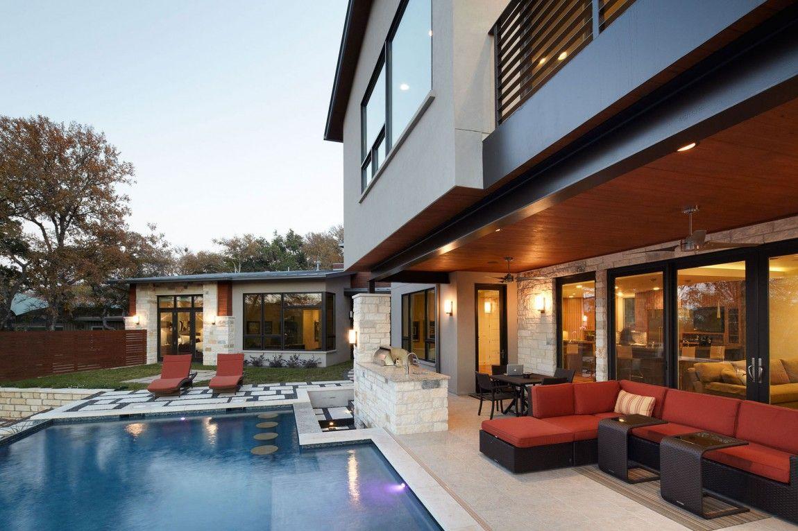 Ridgewood Residence By Cornerstone Architects 13 House Design