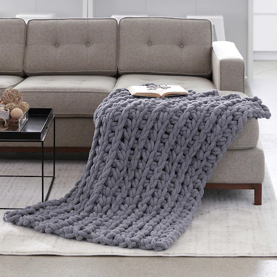 Bernat® Blanket Big™ Big Ridge Crochet Throw    May your day always be full of happiness, ladies. Lord, you never miss a smile on your face. Crocheted beauties continue to be made, crocheted blanket models will take its place in, crocheted 3-D blanket construction I wanted you to see, really looks as a three-dimensional stand, gayette soft and warm was a model to keep.    Our blanket model has taken its place among crocheted blanket models... #Crochet #hook #Jumbo #Loops #Threads #Turquoise
