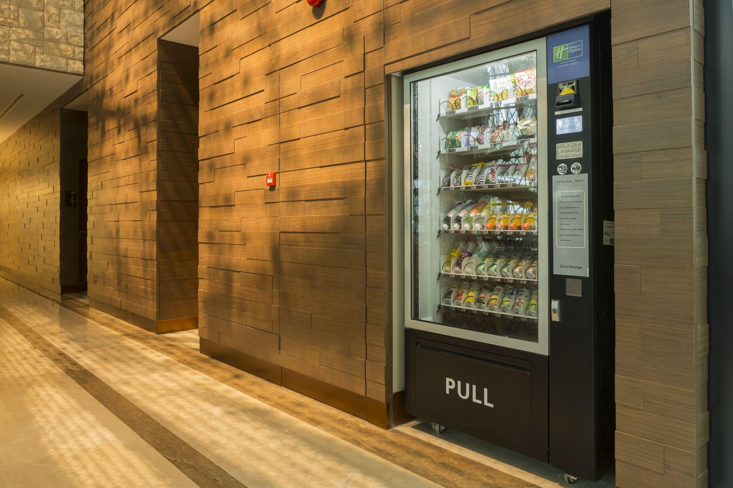 Vending Machine at Holiday Inn Express Singapore Clarke Quay ...