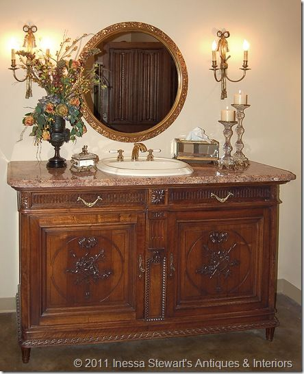 antique louis xvi buffet sink conversion antique buffet sideboard antique buffet and. Black Bedroom Furniture Sets. Home Design Ideas