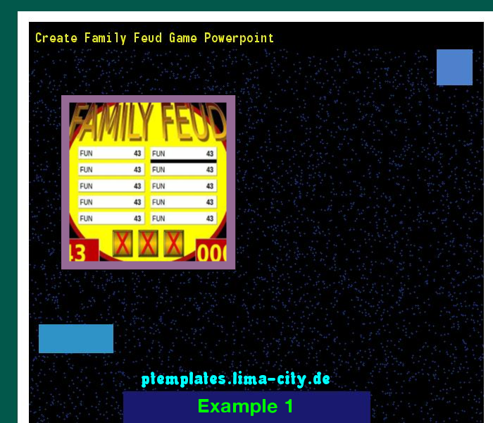Create Family Feud Game Powerpoint Powerpoint Templates 135232