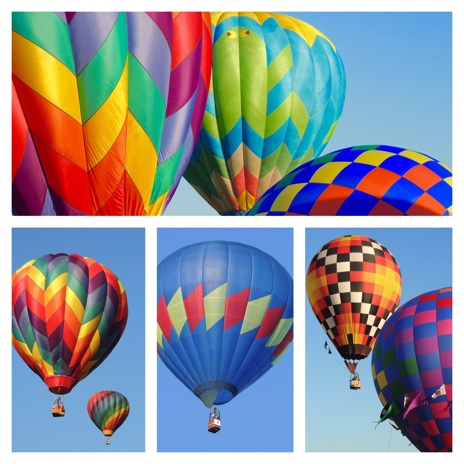 They were hosting the Freedom Balloon Fest in Fuquay