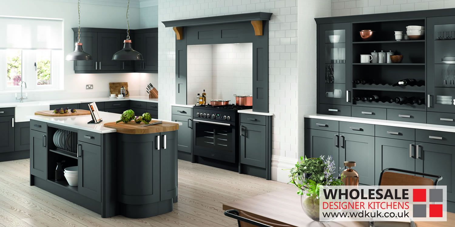oxford anthracite kitchens matt kitchen cabinets anthracite in rh pinterest com