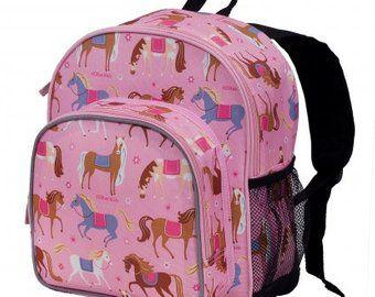 4e27316660 Monogram Backpack - Wildkin horses