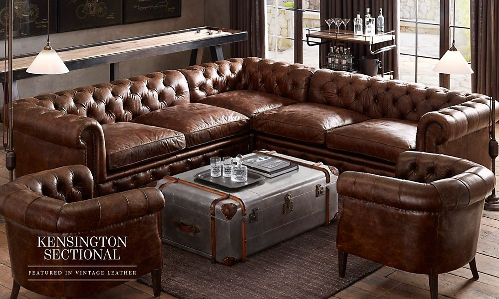 Restoration Hardware Leather Sofa Gallery of Restoration Hardware Leather Sofa Added on Pundhi. : sectional couch hardware - Sectionals, Sofas & Couches