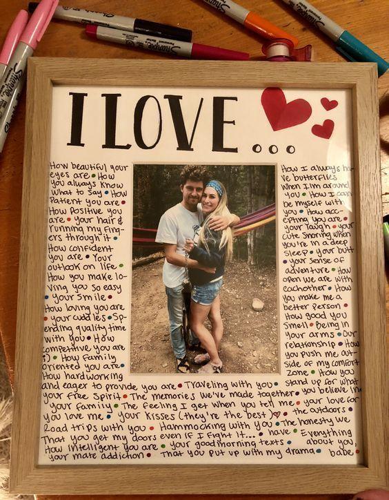 Einfache DIY Weihnachtsgeschenke für Ihn  Öffnen wenn Briefe #boyfriendgifts