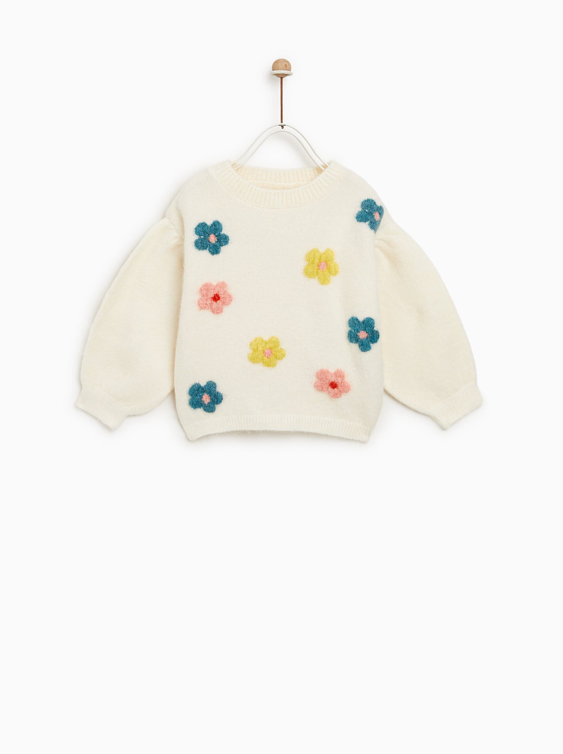 7527998e28 Floral sweater | bby clothes | Floral sweater, Zara baby clothes ...