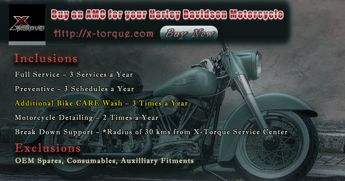 Motorcycle Annual Maintenance Bangalore Hd Motorcycles Harley Davidson India Maintenance