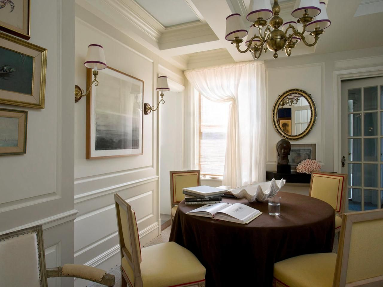 Small Space Decorating Donts Dining RoomsHanging ChandelierChandeliersPaneled