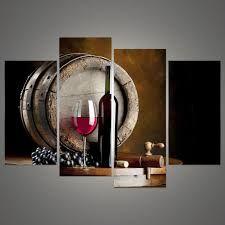 Resultado de imagen para cuadros modernos para comedor vinos