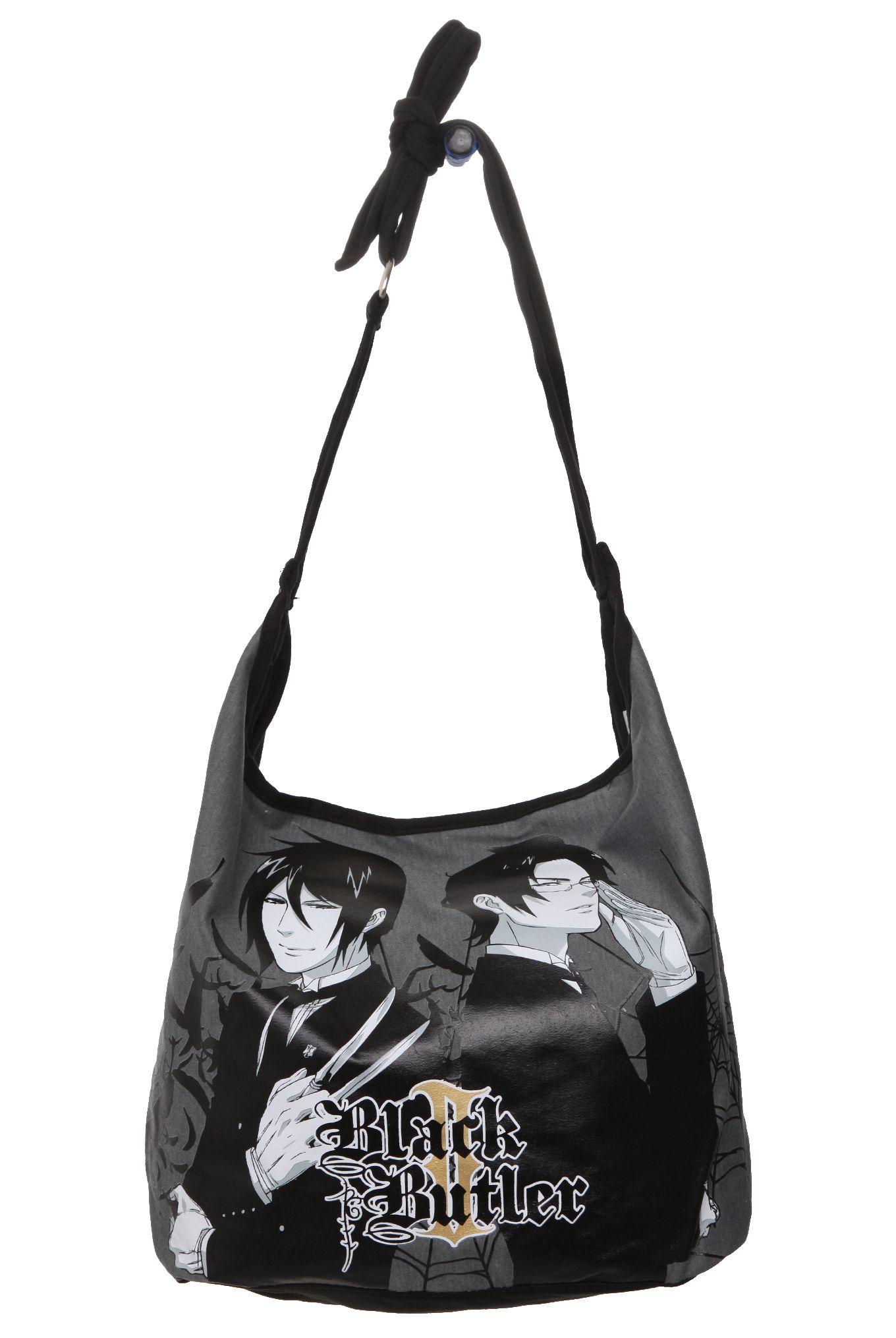 Black Butler Hobo Bag Hot Topic