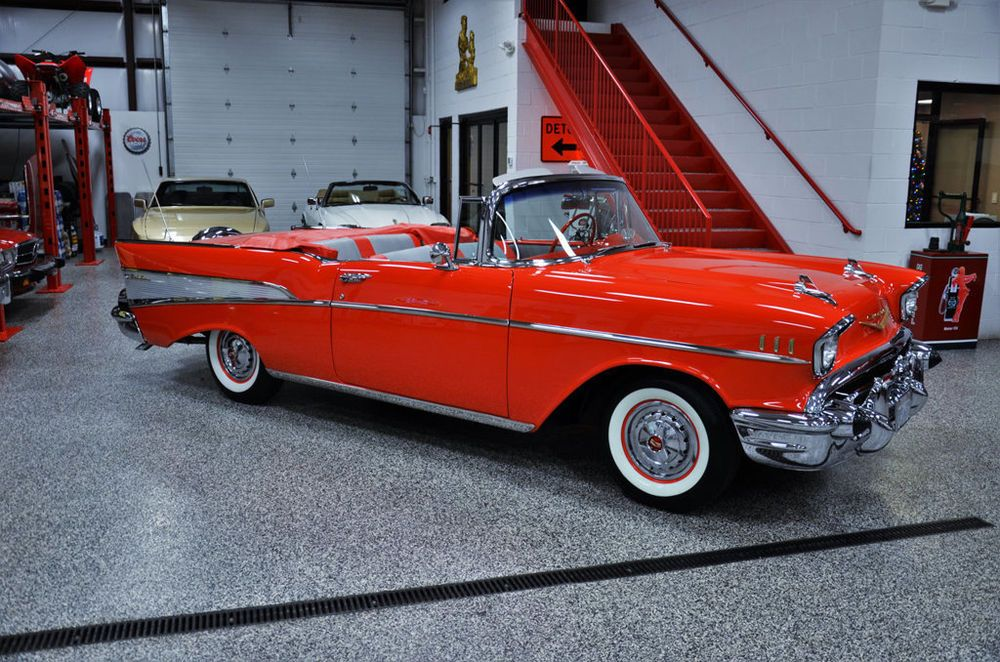 1957 Chevrolet Bel Air Convertible Bel Air Convertible Before