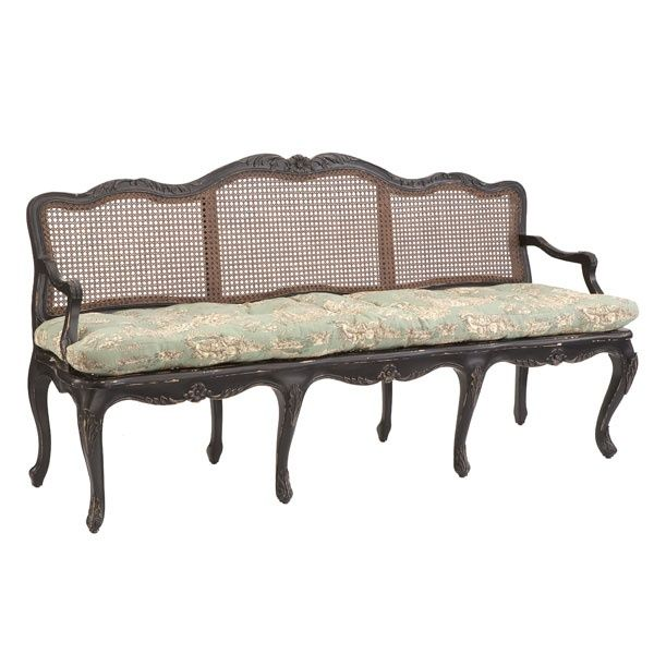 French Country Bench The Cushion Is A
