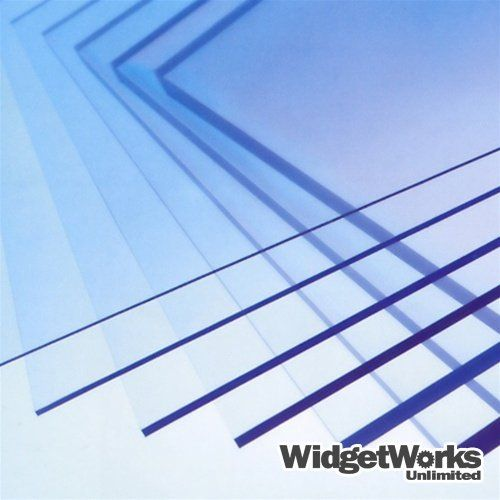 Petg Thermoform Plastic Sheets 1 32 X 12 X 12 Sheets 12 Piece Bundle Widgetworks Unlimited Llc Http Www Vacuum Forming Plastic Sheets Clear Plexiglass