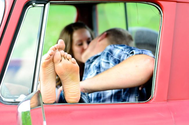 Kissing Feet by Mary Banducci {photographer interview}