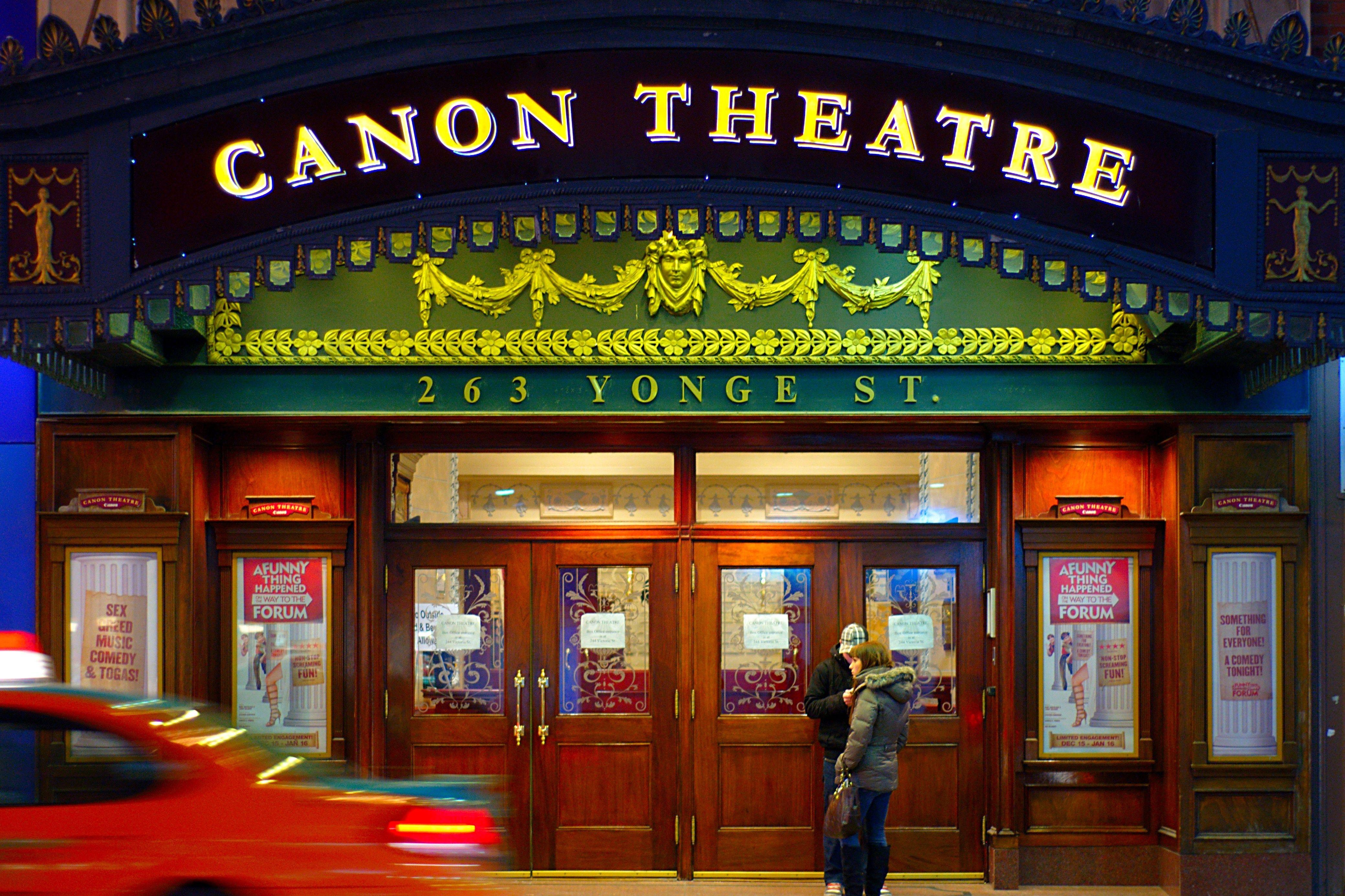 entertainment canon theatre canada the canon theatre in toronto