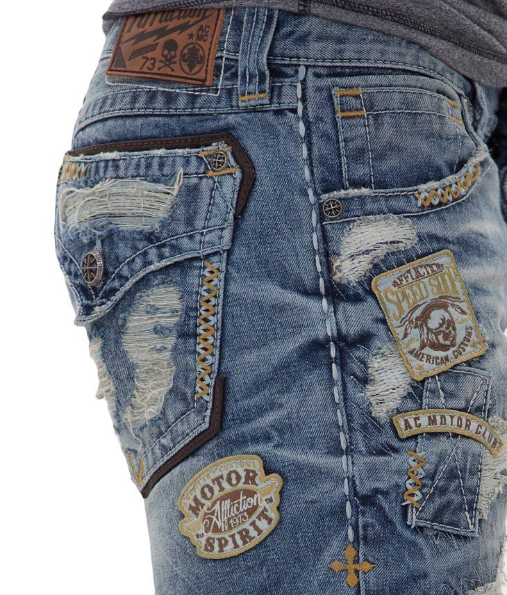 Affliction Black Premium Cooper Jean - Men's Jeans
