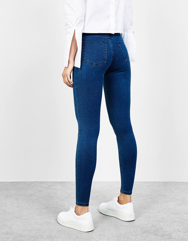 nueva llegada 41679 ea348 Denim Collection - NEW COLLECTION - MUJER - Bershka Mexico ...