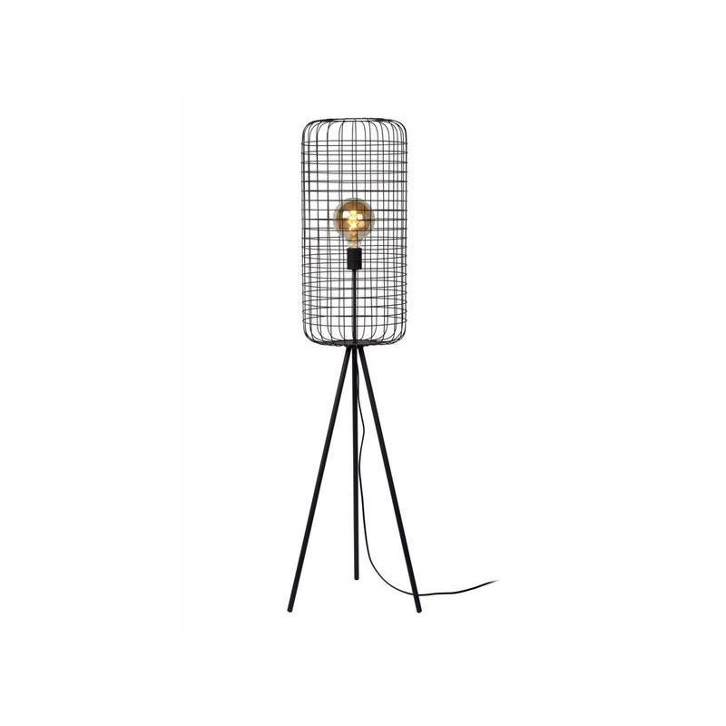 Lampadaires Design Lucide Esmee Noir Metal 02705 31 30 22914