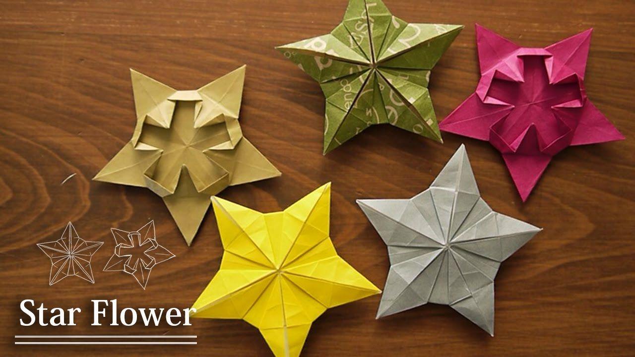 Flowerorigami Tutorial Christmas