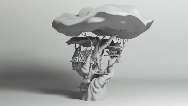 Modeled with Maya and Mudbox. Original concept by Lane Garrison [ oolongchronicle.blogspot.com ]