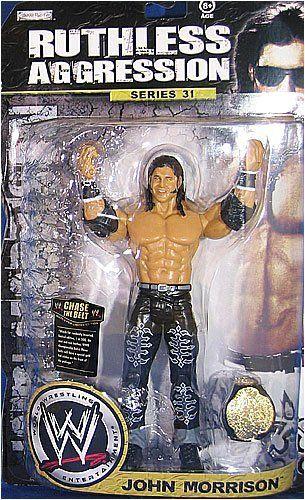 WWE Jakks Wrestling Figure b Ruthless Aggression RA John Morrison