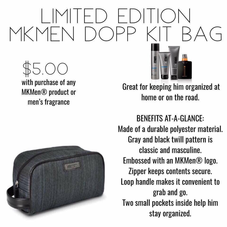 Mary Kay Holiday 2017 - Limited edition men\'s kit bag | Mary Kay ...
