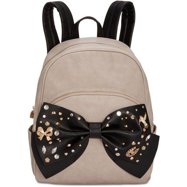 Betsey Johnson Bow Medium Backpack 98cf36f8c8e75