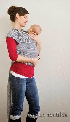 How To Make A Moby Wrap Baby Carrier Crafts Pinterest Baby
