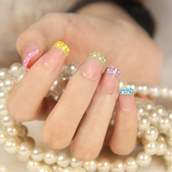 55 gorgeous french tip nail designs for a classy manicure seo 55 gorgeous french tip nail designs for a classy manicure prinsesfo Image collections