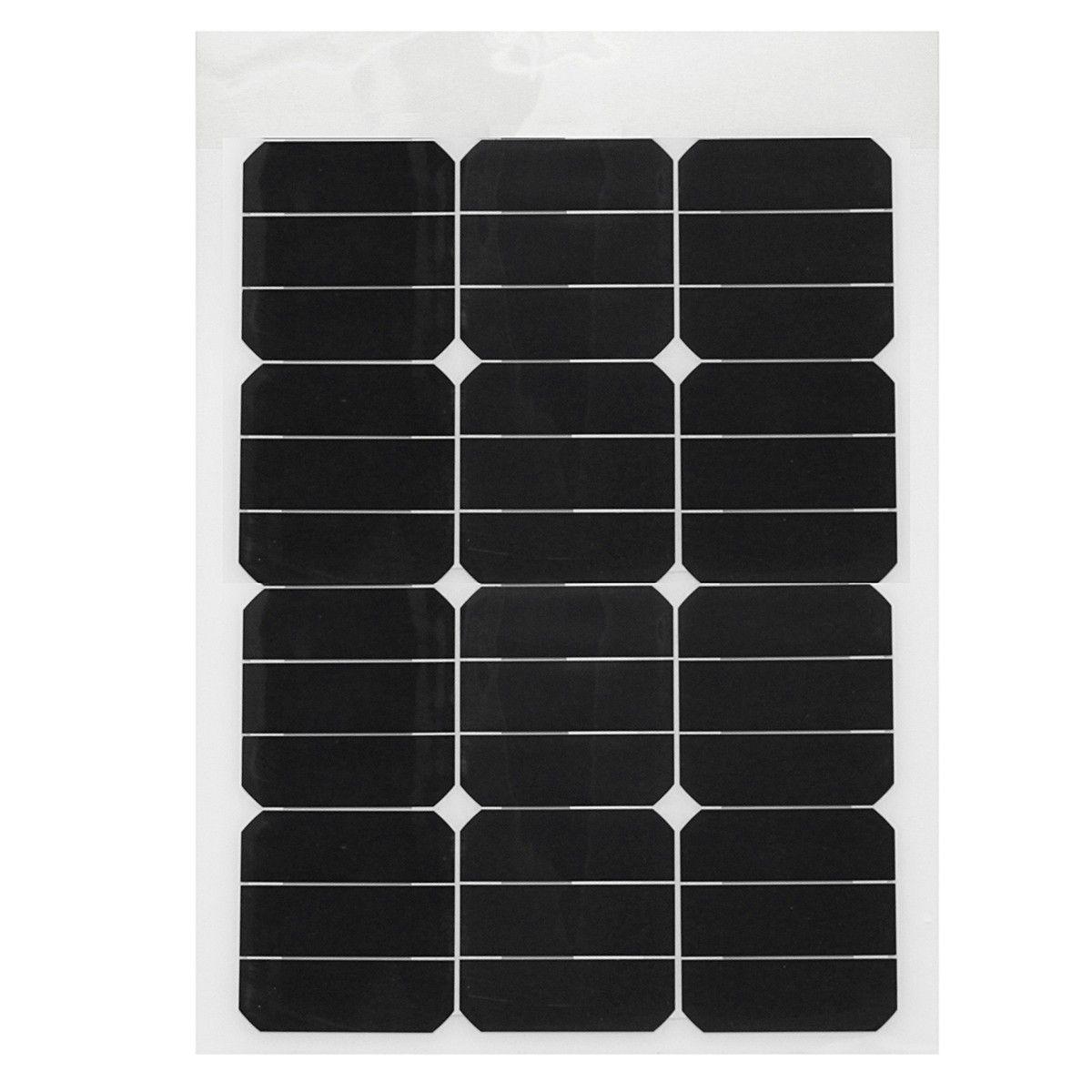 Scm Solar elfelandâ 40w 18v mono semi solar panel for home rv boat