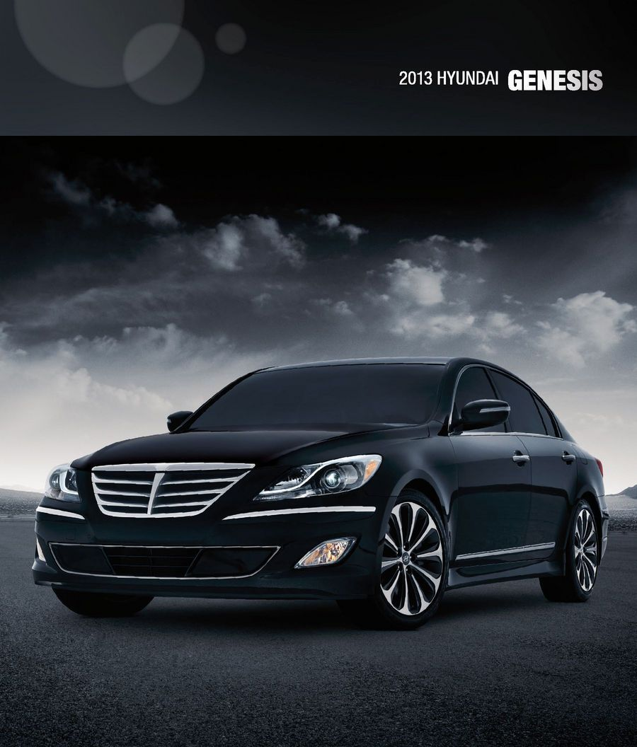 Hyundai Houston Texas: Check Out The 2013 Hyundai Genesis Sedan E-Brochure #cars