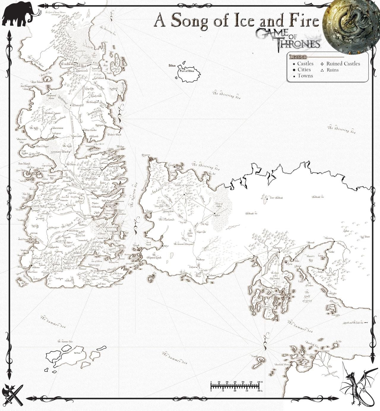 Amazing image with regard to game of thrones printable map