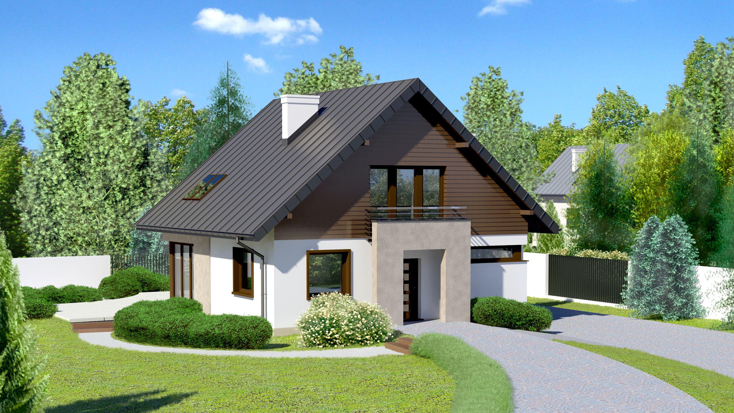 House design House at Cyprysowa 7 CE – HOUSE EB3-15 – ready …
