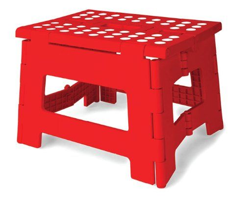 Kikkerland Rhino Easy Fold Step Stool... $9.45 #bestseller  sc 1 st  Pinterest & Kikkerland Rhino Easy Fold Step Stool... $9.45 #bestseller | Other ... islam-shia.org