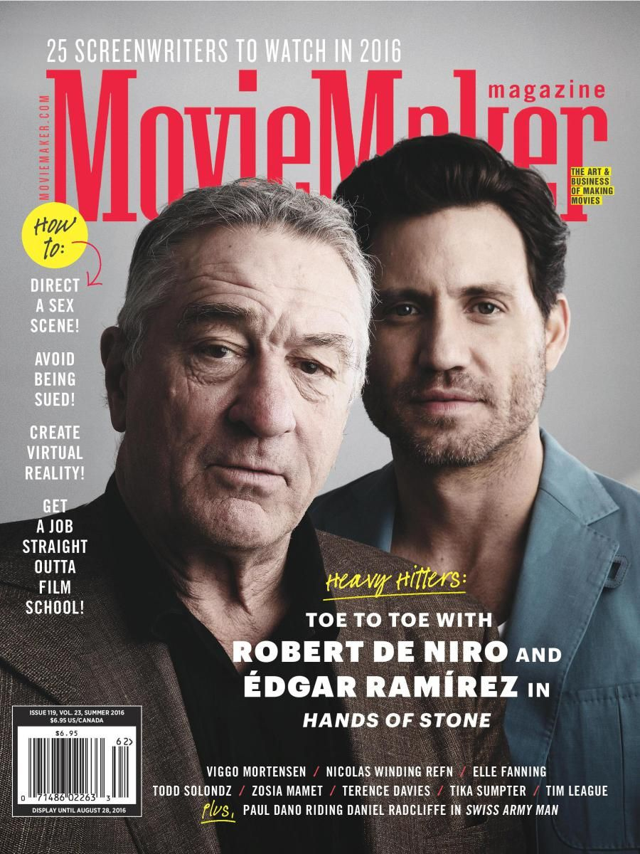 Moviemaker Magazine Only 4 99 Issue Film Film Festival Magazine Front Cover