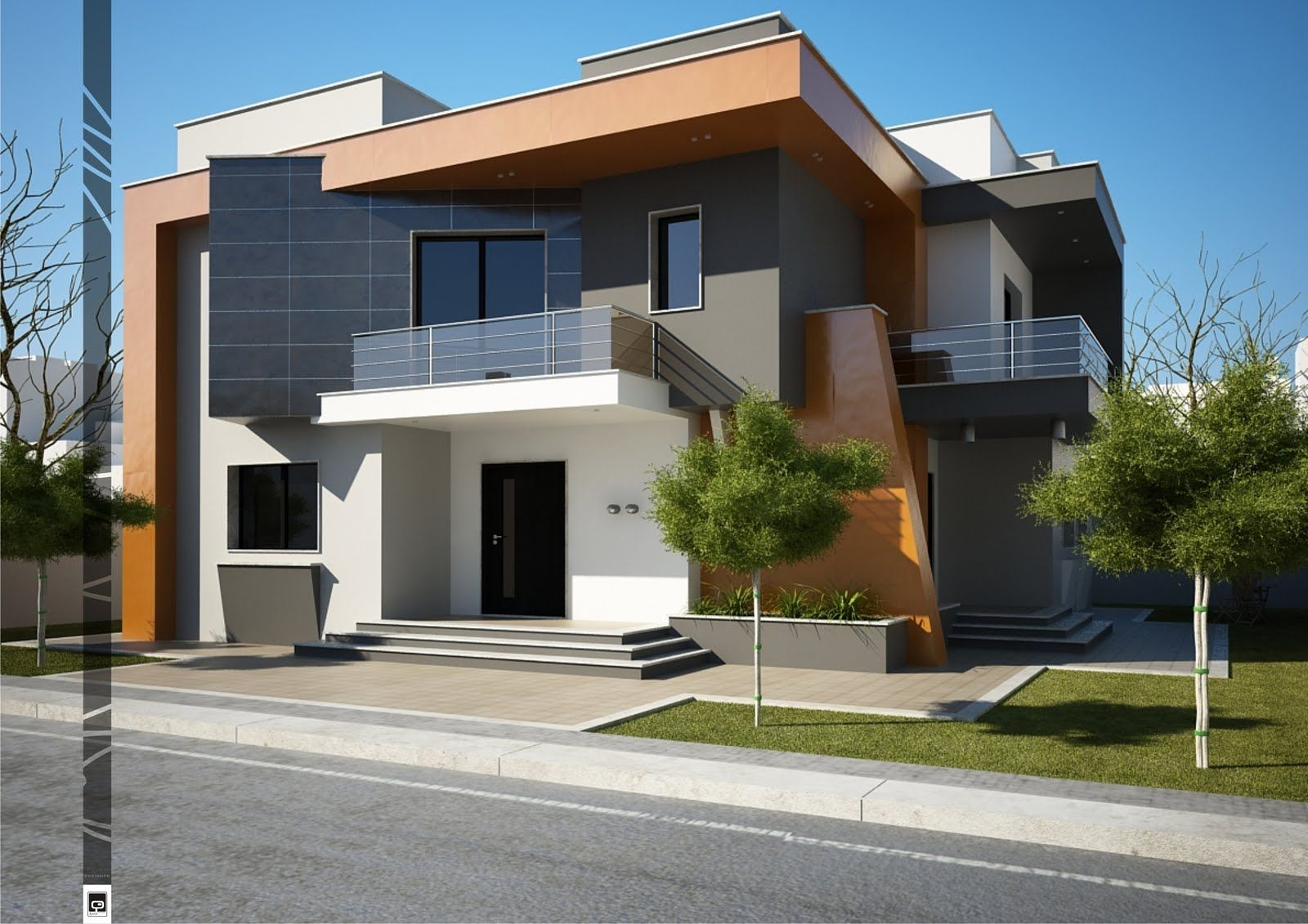 Architecture design 1 colores de exterior casas for Casa minimalista exterior