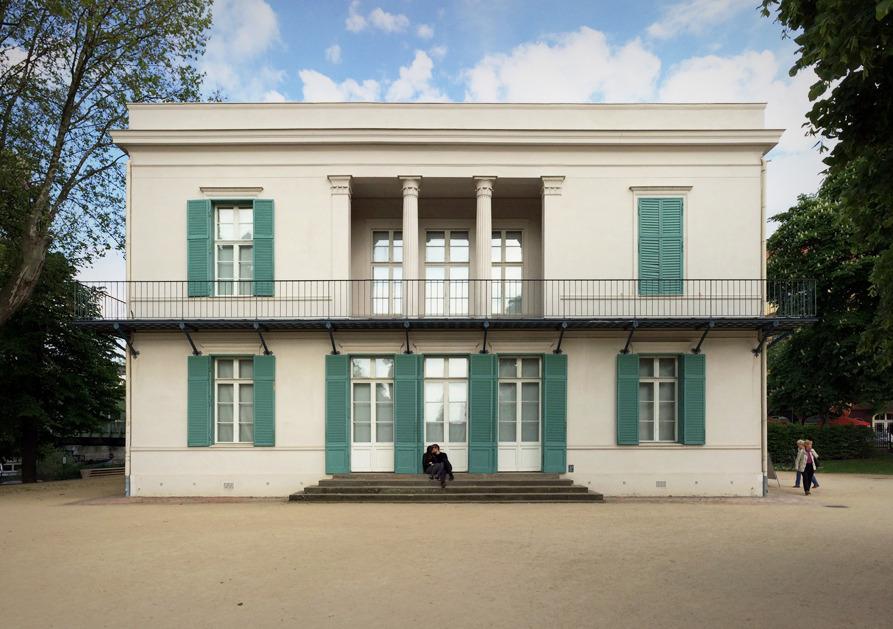 738 Karl Friedrich Schinkel Neuer Pavillon Berlin Germany 1824 25 Architecture Facade House Best Architects