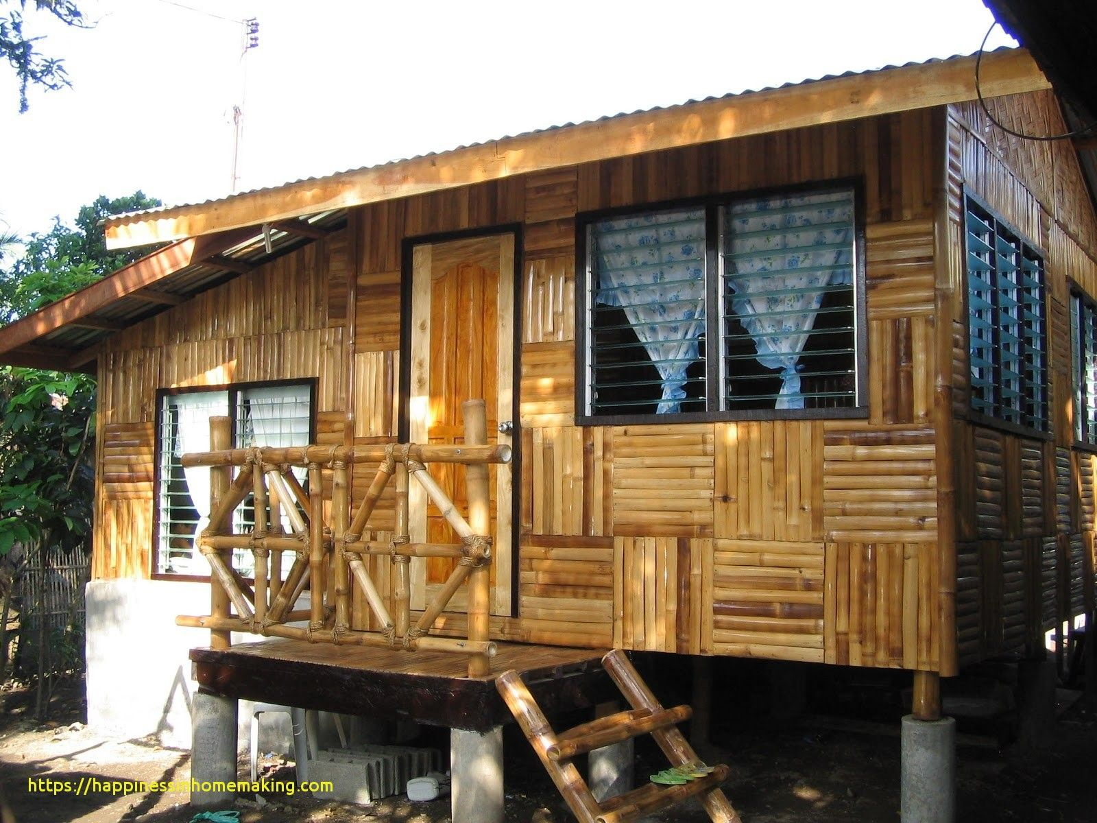 Native house design bamboo philippines