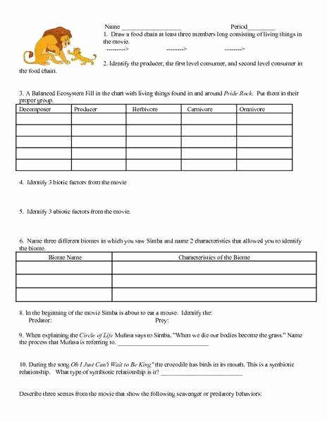 Ecological Succession Worksheet High School Lovely ...