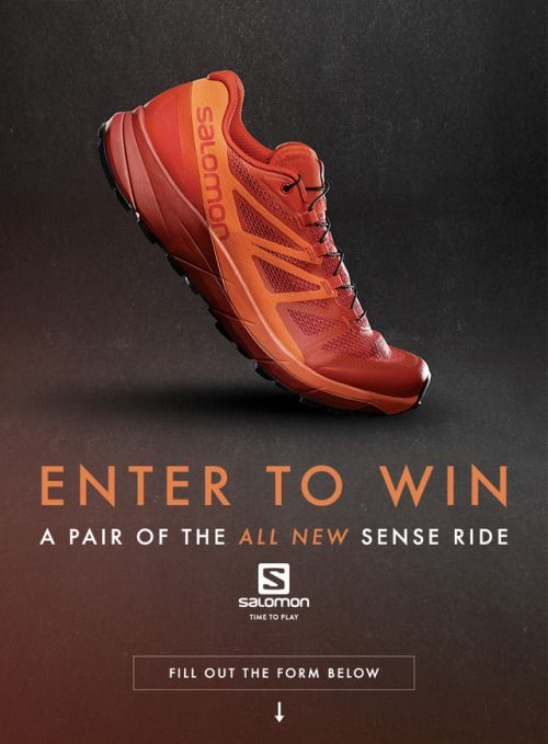 trail from a running Runner of Salomon shoes Win pair Trail PZOkXiu