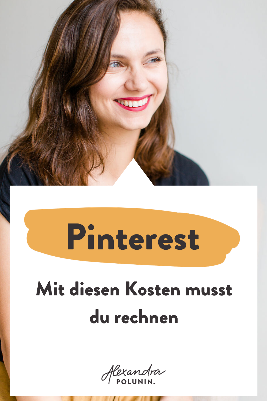 Pinterest Kosten