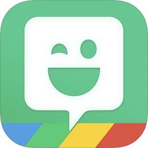 Bitmoji by Bitstrips Bitmoji app, Emoji, App logo