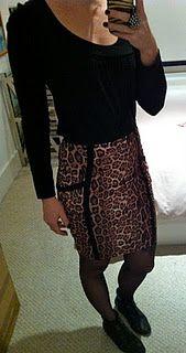 leopard print pencil skirt, top shop, leopard print, animal print, pencil skirt, what I wore