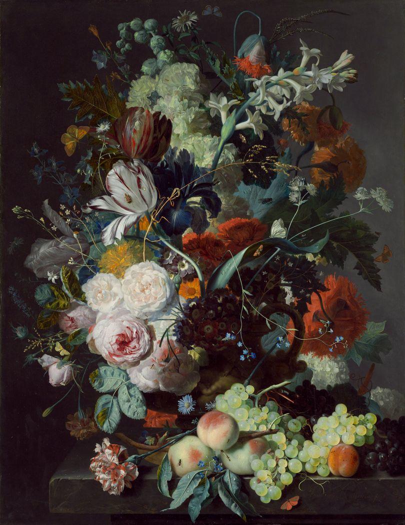 Картинки с цветами и фруктами