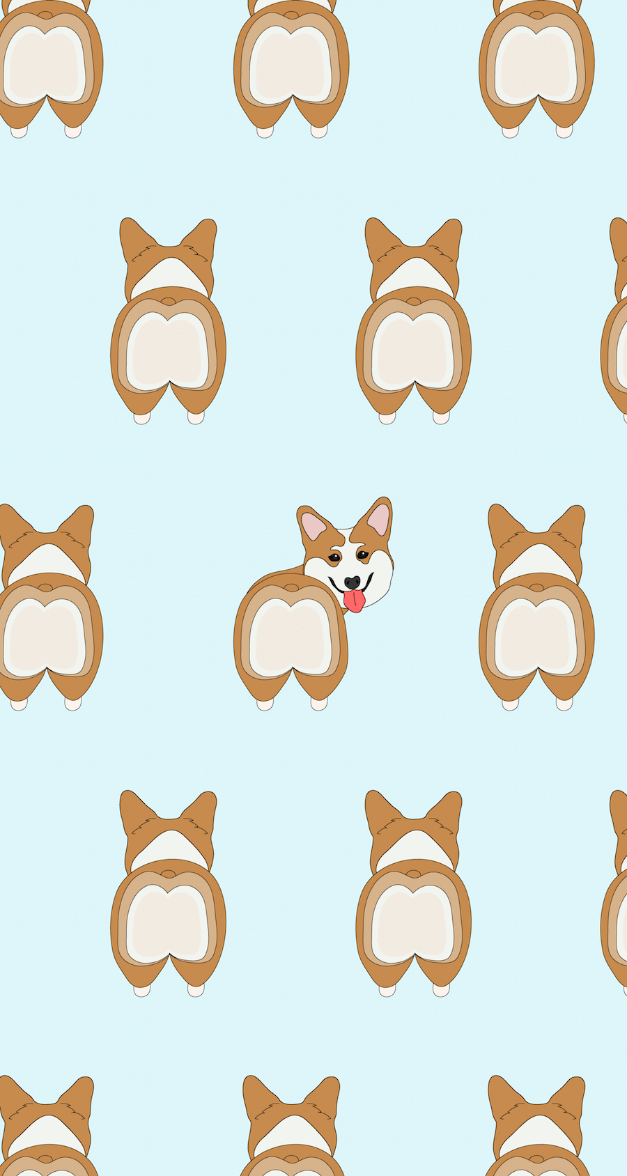 freebie - dachshunds and corgis wallpaper | wallpapers | pinterest