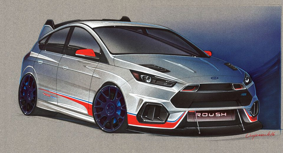 Ford Previews Six Modified Focus And Fiestas For SEMA | Cars ...