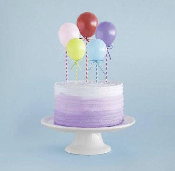 Mini Balloons Cake Topper Kit Balloon