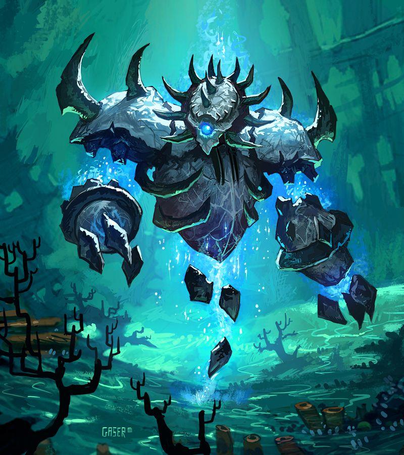 Water Elemental Warcraft Art