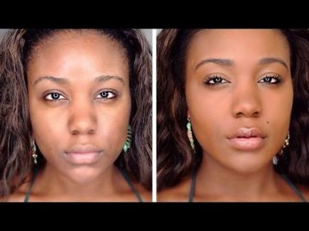 trendy makeup tutorial for beginners contouring black